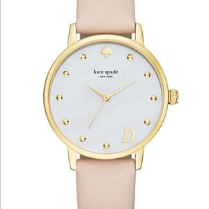 Kate Spade Metro Monogram Watch